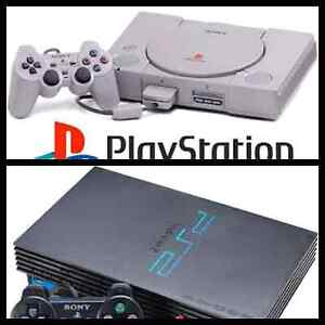 WTB Playstation 1 PS1 and Playstation 2 PS2 Bundles Sydney City Inner Sydney Preview