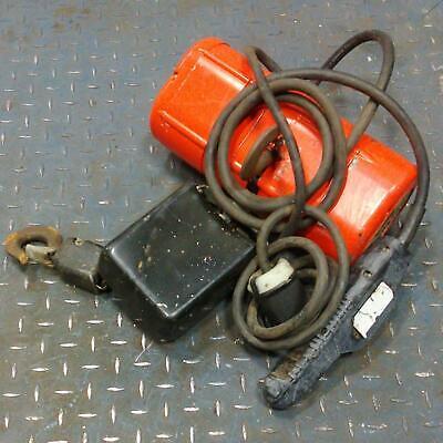 Cm Shopstar 600lbs. Electric Chain Hoist 15ft