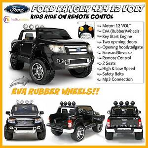 New Black or Blue 12v Ford Ranger Kids Ride On Car Remote Control Mount Kuring-gai Hornsby Area Preview