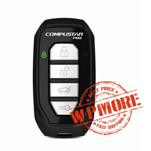 Compustar 2WG15R-FM 2-Way 4-Button 3000-FT LED Confirmation Replacement Remote
