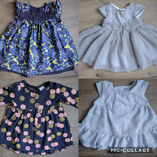 0-3 months and 3 - 6 months Baby girl dresses under $10.00 each
