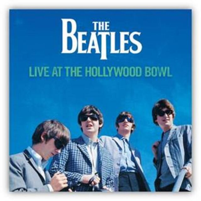 The Beatles - Live at the Hollywood Bowl - New Vinyl LP