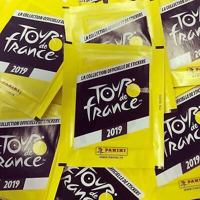 PANINI stickers TOUR DE FRANCE 2019 10x pochettes zakjes vignettes wielrennen