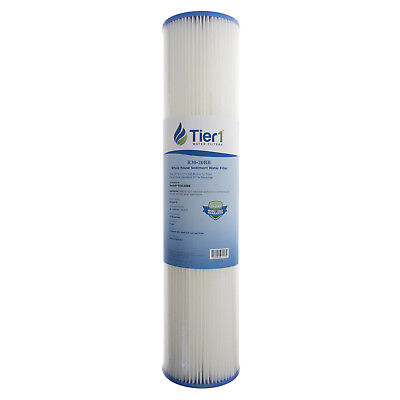 20 x 4.5 Inch 30 Micron Pleated Polyester Sediment Water Filter