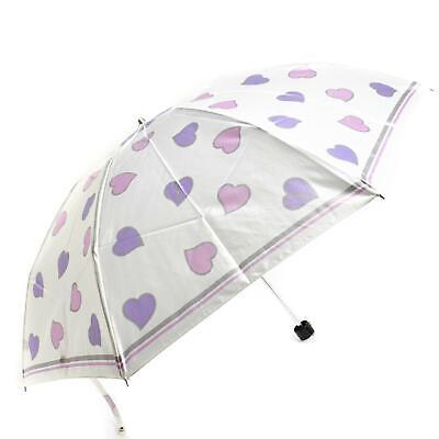 "YVES SAINT LAURENT: White, ""YSL"" Logo, Compact Travel Umbrella (mn)"