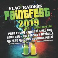 Paintfest 2019, Free Entry, Free Rentals & Demo Day