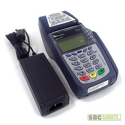 Verifone Omni 51003730vx510 Pos Credit Card Terminal With Power Adapter