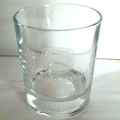 John Deere Logo Classic Golf Tumbler Drinking GLASS Etched Low Ball 12oz Barware