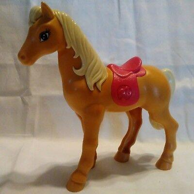 Barbie Mattel McDonald's Happy Meal 2015 Toy Dreamhouse Horse Tawny Pony