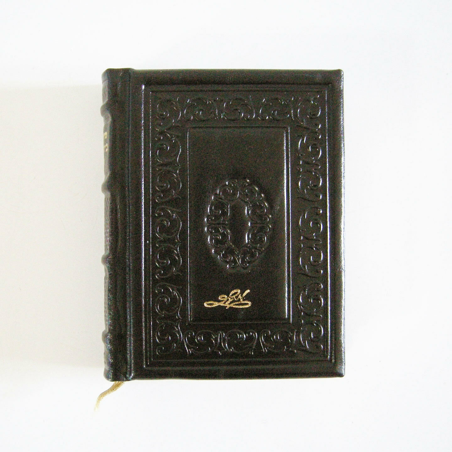 Genuine Leather-Bound Pocket Siddur Gilded Pages Hebrew Handmade Miller Israel (מוכר מישראל) 7
