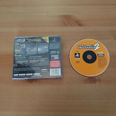 TONY HAWK'S PRO SKATER 2 SONY PS1 OR PS2 UK GAME