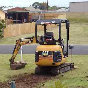 CAT mini excavator 1.8t trailer Warragul Baw Baw Area Preview
