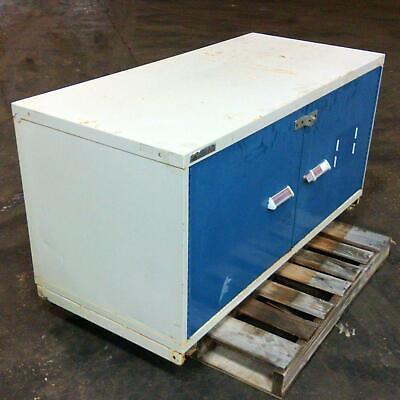 Stanley Vidmar 2-door 2-shelf Storage System Cabinet 60 X 27-12 X 30