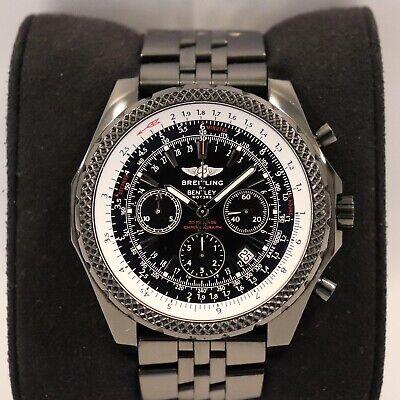 Mens Breitling For Bentley Motors A25362 Black Dial Black Chronograph Black PVD