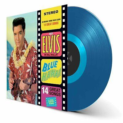 Elvis Presley- Blue Hawaii (NEW/ SEALED VINYL BLUE COLORED 180 GRAM)