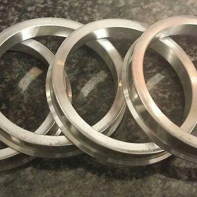 72.6  71.1 Alloy Aluminium Wheel Spigot Hub Ring BMW Wheels To Vivaro Traffic