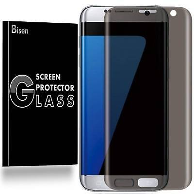Samsung Galaxy S7 Edge [BISEN] Secrecy Anti-Spy Tempered Glass Screen Protector