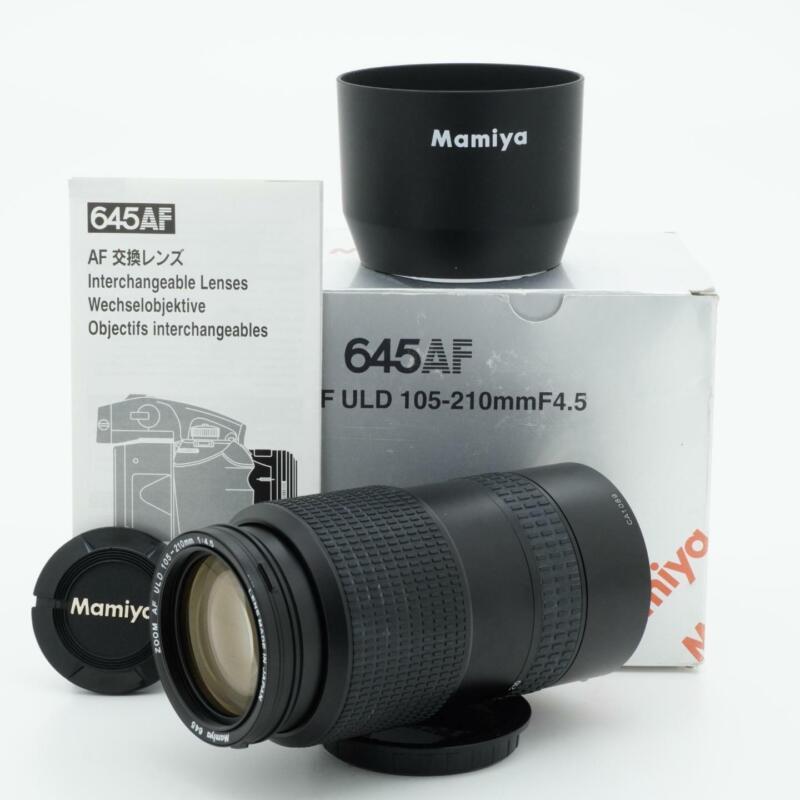 Mamiya 645 Zoom AF ULD 105-210mm F/4.5 Lens