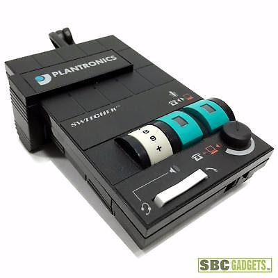 Plantronics Computer Phone Multimedia Amplifier Headset Switcher (Model: MX10) ()