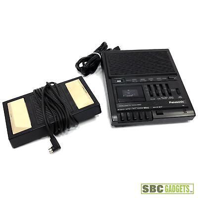Panasonic Microcassette Transcriberrecorder Foot Pedal Model Rr930