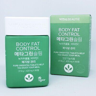VITALBEAUTIE Body Fat Control Meta Green Slim 90 tablets Healthy Diet K-Beauty