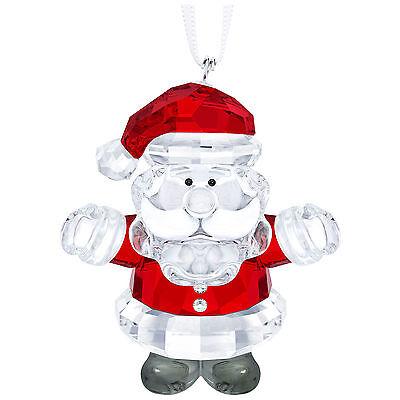 Swarovski Santa  Claus Ornament  # 5286070 Crystal New in Original Box