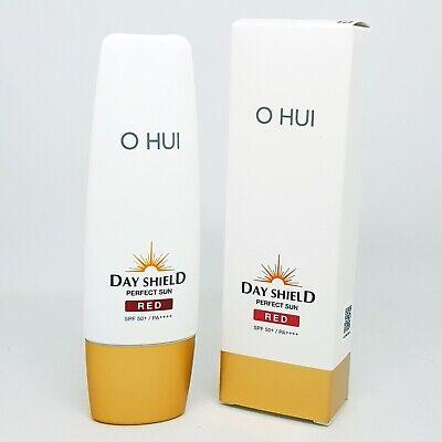 O HUI Day Shield Perfect Sun Red Cream 50ml SPF50+ PA++++ Green Base K-Beauty