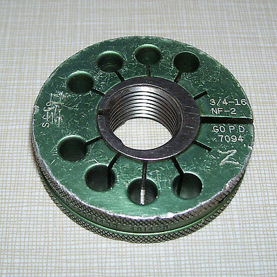 Southern Gage 34-16 Nf-2 Go Pd .7094 Outside Thread Ring Gauge