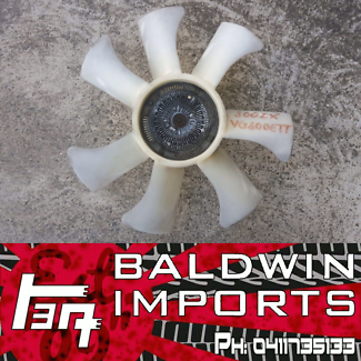 NISSAN 300ZX Z32 VG30DETT ENGINE COOLING FAN AND HUB ASSEMBLY