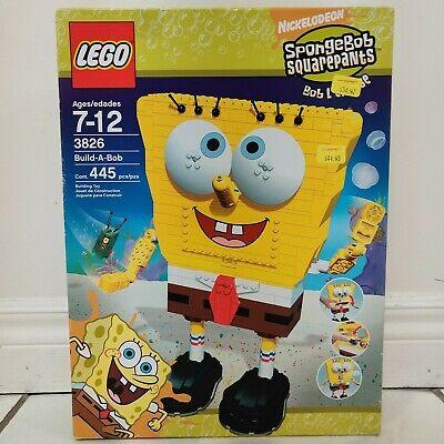 LEGO Spongebob Squarepants Set - Build-A-Bob (3826) Brand New Sealed - Rare