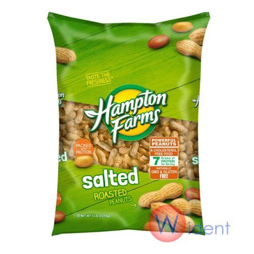 Hampton Farms Salted In Shell Peanuts 5 lbs.