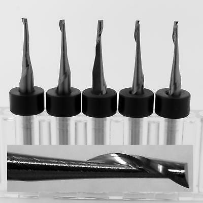 5 116 One Flute Carbide End Mills Made In Usa Plastic Aluminum Acrylic M196