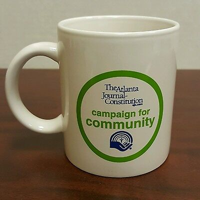 Atlanta Journal Constitution Campaign For Community Coffee Mug United Way