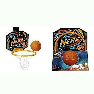 Nerf Sports Hasbro MINI Basketball Nerfoop Jump Shot Hoop/Foam Ball GIFT 4+ NIP