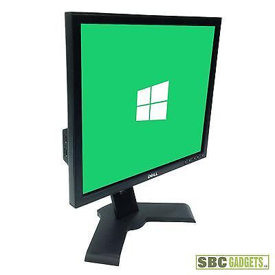 """Dell 19"""" LCD Flat Screen Monitor, VGA / DVI - USB Ports - TESTED - SHIP SAME DAY"""