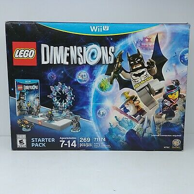 LEGO 71174 Dimensions Starter Pack Wii U System New Sealed