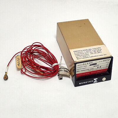 Endevco 2222c Miniature Piezoelectric Accelerometer Vibration Measurement Works