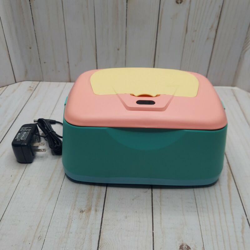 GOGO PURE Baby Wet Wipe Warmer Dispenser Holder & Case, Easy Press On/Off Switch