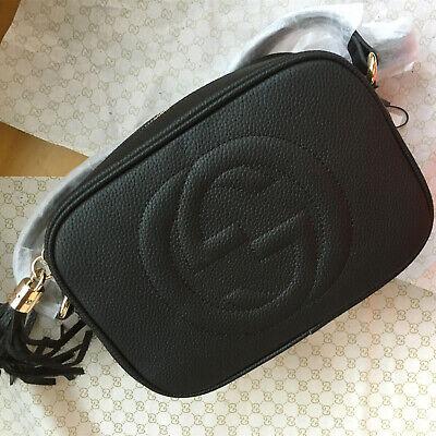 Authentic Gucci Black Women's Shoulder Bag