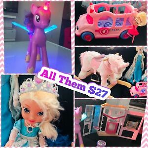 All Girl Toys $27 -my little pony, Frozen and more