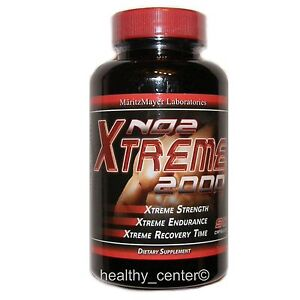 NO2 EXTREME L-ARGININE NITRIC OXIDE BUILD LEAN MUSCLE MASS 90 capsules