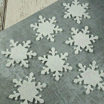 Snowflakes, felt die cut, felt snowflakes, die cut snowflakes,Christmas