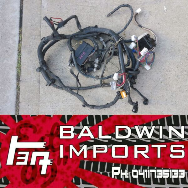 toyota trueno levin ae111 4age 20v engine bay wiring harness thanks for the report we ll review this ad