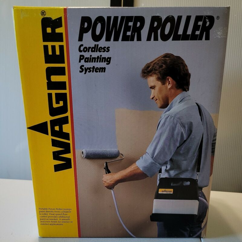 Wagner Power Roller Cordless Painting Pump System Model 0156030 Brand New