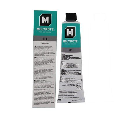 Dow Corning Molykote 111 O Ring Valve Silicone Lubricant Sealant Grease 150G 5 3