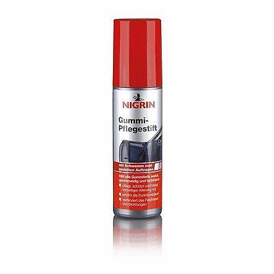 NIGRIN Gummipflege Stift 75 ml - 74653 - Gummipflegestift Tür Dichtungen Pflege