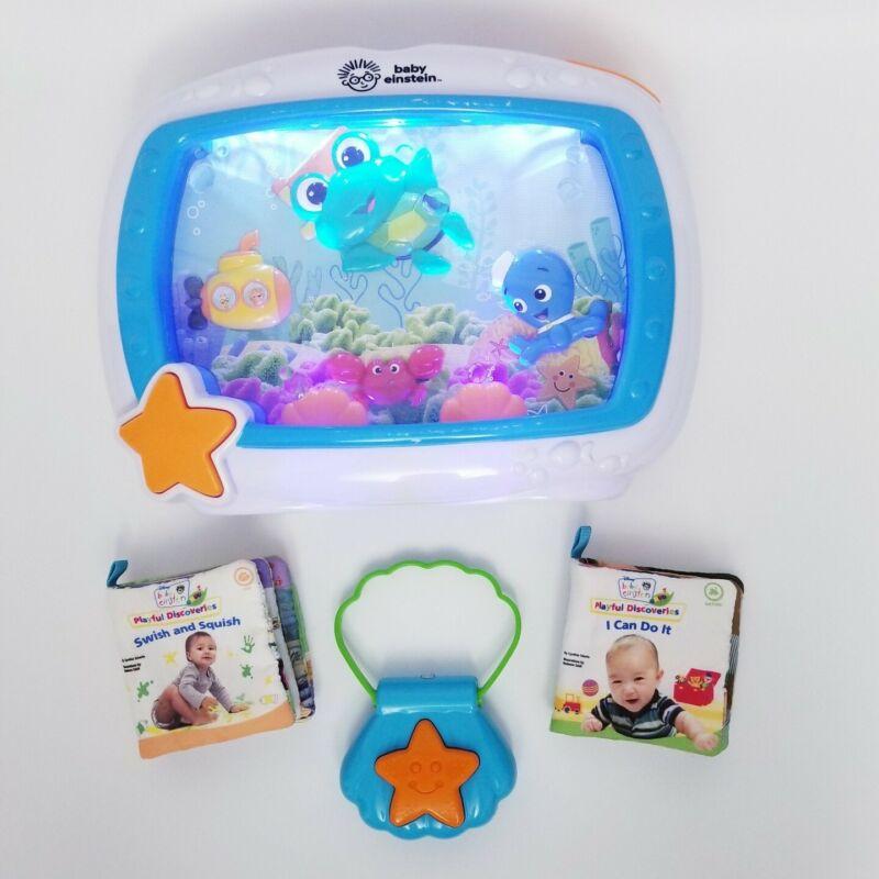 Baby Einstein Sea Dreams Soother Musical Crib Toy Fish Aquarium Sound Machine