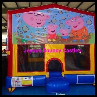 Christmas kids jumping castles end of year hire $119