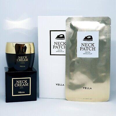 VELLA Neck Prestige Wrinkle Killer Patch 5ea Cream 50ml Anti-Wrinkle K-Beauty