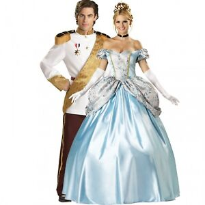 Disney's Cinderella and Prince Charming couples costumes